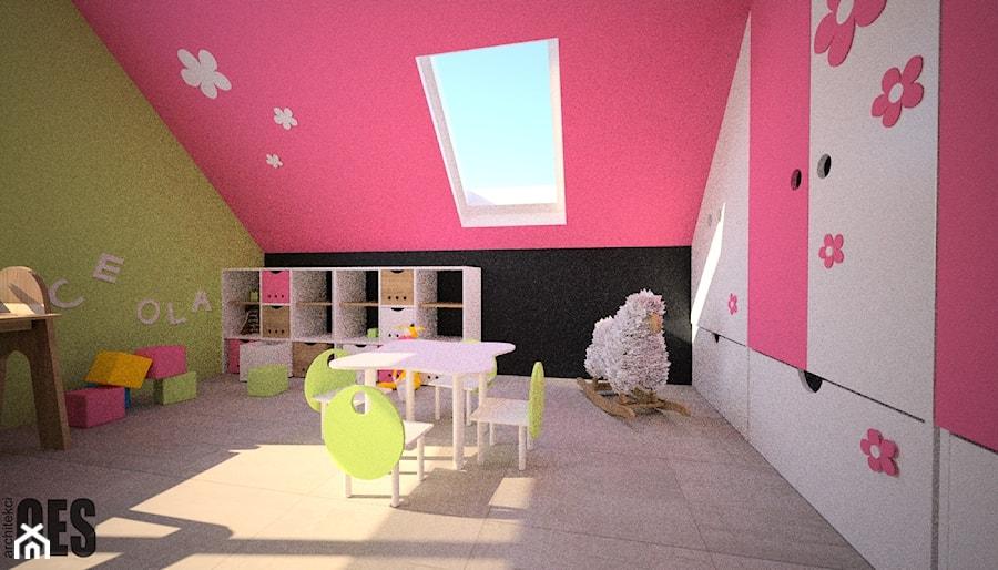 Projekty pokoi dziecięcych - Pokój dziecka, styl nowoczesny - zdjęcie od OES architekci