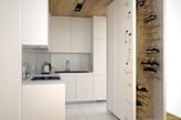 białe meble na wymiar, minimalistyczna kuchnia
