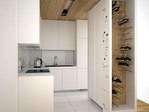 Miejsce w kuchni na butelki z winem