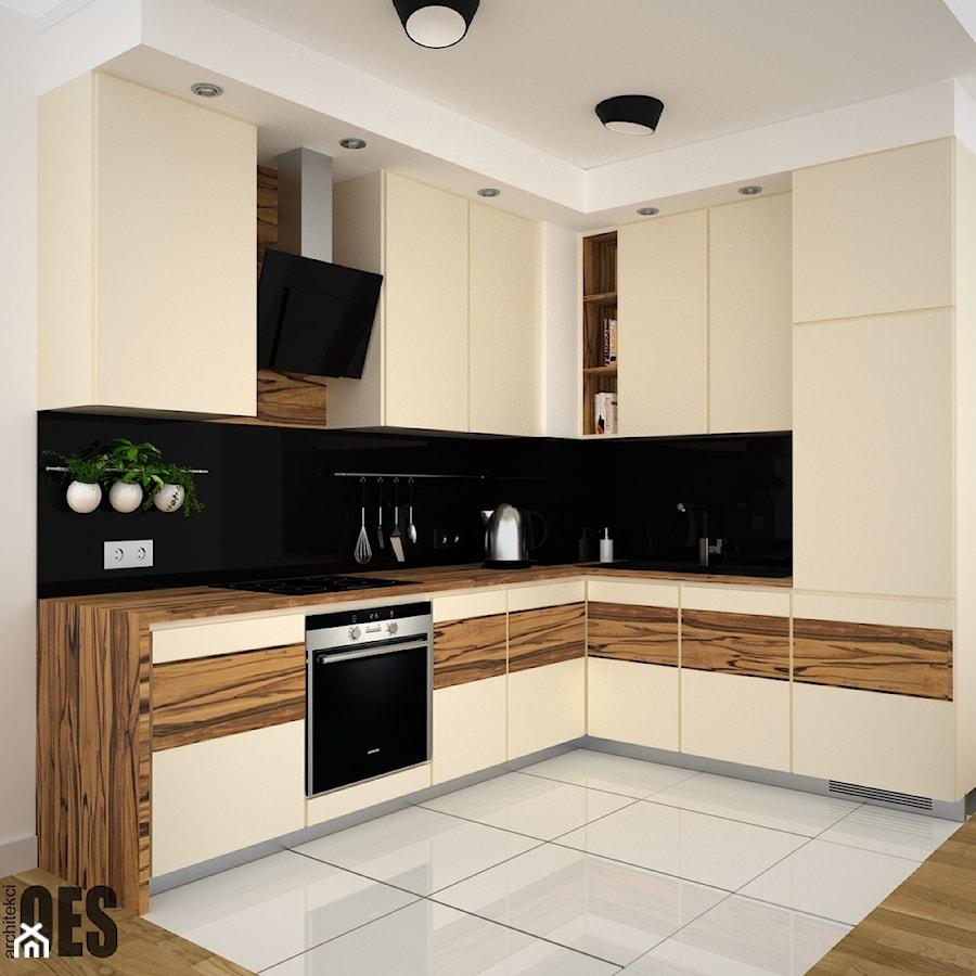 Projekt Małej Kuchni 1 Kuchnia Styl Nowoczesny Zdjęcie