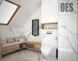 Łazienka na poddaszu - Łazienka, styl nowoczesny - zdjęcie od OES architekci - Homebook