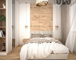 Subtelna sypialnia - Sypialnia, styl nowoczesny - zdjęcie od OES architekci - Homebook