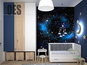 Pokój dziecka - tapeta gwiazdy