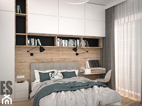 Aranżacje wnętrz - Sypialnia: Przytulna sypialnia - OES architekci. Przeglądaj, dodawaj i zapisuj najlepsze zdjęcia, pomysły i inspiracje designerskie. W bazie mamy już prawie milion fotografii!