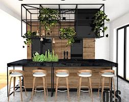 Kuchnia loft - Kuchnia, styl industrialny - zdjęcie od OES architekci - Homebook