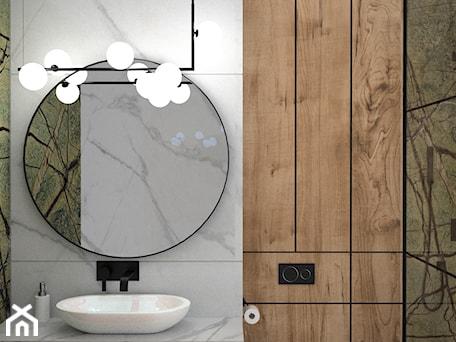 Aranżacje wnętrz - Łazienka: Łazienka rainforest green - Łazienka, styl nowoczesny - OES architekci. Przeglądaj, dodawaj i zapisuj najlepsze zdjęcia, pomysły i inspiracje designerskie. W bazie mamy już prawie milion fotografii!