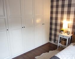 Mieszkanie hand made :) - Średnia sypialnia małżeńska, styl tradycyjny - zdjęcie od karolina0606