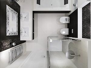 łazienka w stylu glamur