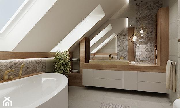 oświetlenie małej łazienki