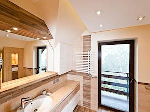 Łazienka w brązach realizacja