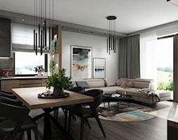 Dom Zielonki - Jadalnia, styl nowoczesny - zdjęcie od All Design Agnieszka Lorenc - Homebook