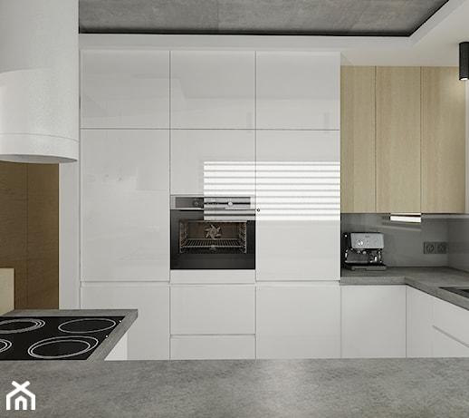 Projekt kuchnia  Kuchnia, styl minimalistyczny  zdjęcie
