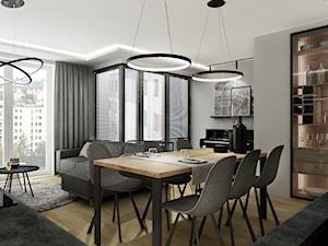 Mieszkanie 80 m2 - Jadalnia, styl nowoczesny - zdjęcie od All Design Agnieszka Lorenc