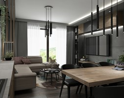 Dom Zielonki - Salon, styl nowoczesny - zdjęcie od All Design Agnieszka Lorenc - Homebook