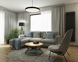 Dom Rzaska kolo Krakowa - Salon, styl nowoczesny - zdjęcie od All Design Agnieszka Lorenc - Homebook
