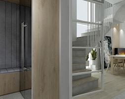Dom pod Poznaniem - Schody, styl skandynawski - zdjęcie od All Design Agnieszka Lorenc
