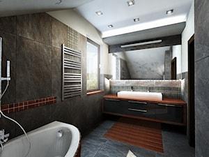 łazienka z magnolią