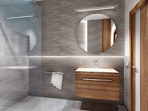 łazienka w szarosci