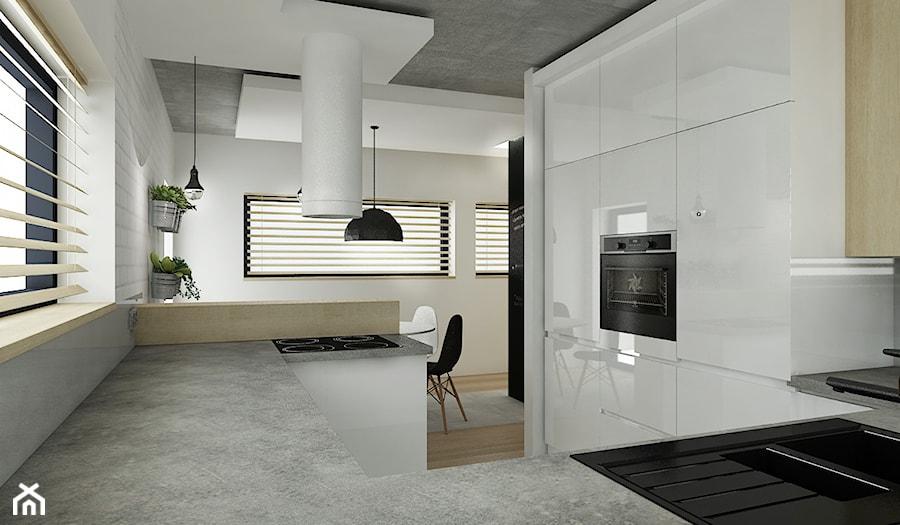 Projekt kuchnia  Kuchnia, styl minimalistyczny  zdjęcie od All Design Agnie