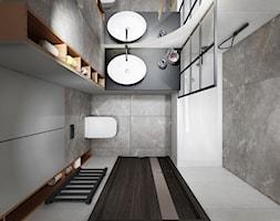 Mieszkanie z zielenią - Łazienka, styl industrialny - zdjęcie od All Design Agnieszka Lorenc - Homebook
