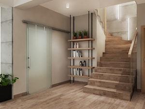 Projekt domu okolice Krakowa - Schody, styl nowoczesny - zdjęcie od All Design Agnieszka Lorenc