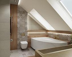 łazienka Z Mozaiką Na ścianie Aranżacje Pomysły