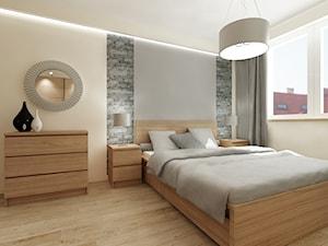 Mieszkanie Kraków - Średnia biała sypialnia małżeńska, styl tradycyjny - zdjęcie od All Design Agnieszka Lorenc