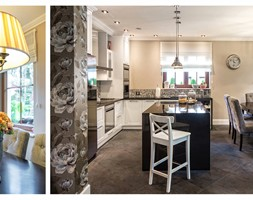 Kuchnia i jadalnia - New Hamptons Residence - zdjęcie od DeCandia Design