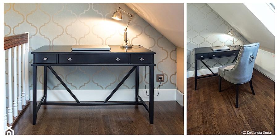 Aranżacje wnętrz - Biuro: Gabinet - New Hamptons Residence - DeCandia Design. Przeglądaj, dodawaj i zapisuj najlepsze zdjęcia, pomysły i inspiracje designerskie. W bazie mamy już prawie milion fotografii!