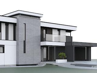 Adaptacja - projekt elewacji domu w Rzeszowie
