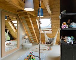 Mountain Cottage - budynek - Średni szary czarny pokój dziecka dla chłopca dla dziewczynki dla malucha, styl nowoczesny - zdjęcie od exterio
