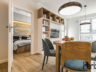 Realizacja małego apartamentu 42 m2 Kolorowy Gocław
