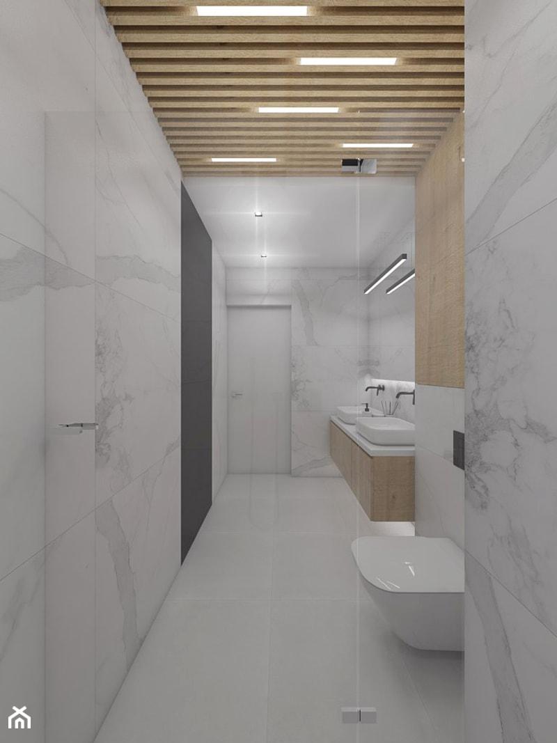 Projekt apartamentu w Warszawie - Łazienka, styl nowoczesny - zdjęcie od interior art studio