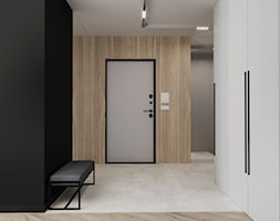 ZIELONY ŻOLIBORZ - Hol / przedpokój, styl nowoczesny - zdjęcie od ESTU architektura wnętrz - Homebook