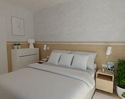 MOZAIKA MOKOTÓW - Sypialnia, styl nowoczesny - zdjęcie od ESTU architektura wnętrz - Homebook