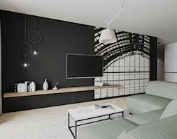 ZIELONY ŻOLIBORZ - Salon, styl nowoczesny - zdjęcie od ESTU architektura wnętrz - Homebook