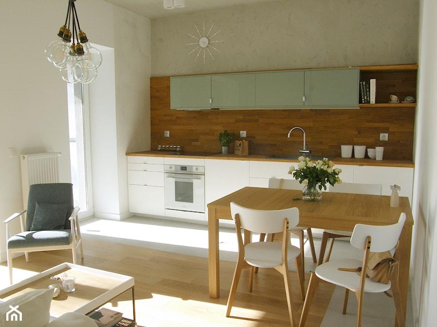 Salon Z Kuchnią Zdjęcie Od Mintbrisk Homebook