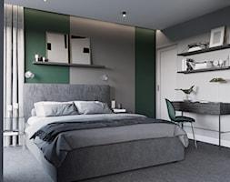 ZIELONY ŻOLIBORZ - Sypialnia, styl eklektyczny - zdjęcie od ESTU architektura wnętrz - Homebook
