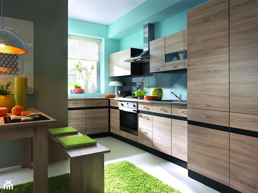 kuchnie kuchnia styl tradycyjny zdjęcie od black red