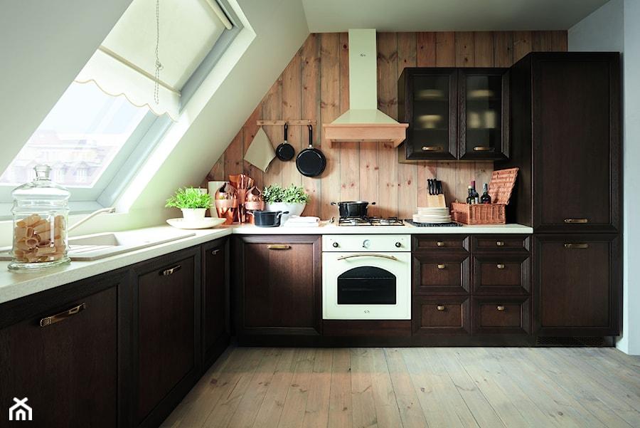 Kuchnie kuchnia styl rustykalny zdj cie od black red for Black red white kuchnie