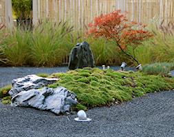 Ogród japoński - Średni ogród za domem japoński - zdjęcie od HADIKA