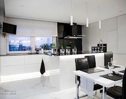 Kuchnia+-+zdj%C4%99cie+od+PROFES+STUDIO+Sylwia+Fabjan-Jaros+-Architekt+wn%C4%99trz