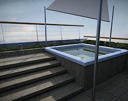 jacuzzi na dachu - zdjęcie od EMSIDE Architektura Krajobrazu