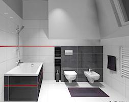 Biało Czerwona łazienka Pomysły Inspiracje Z Homebook