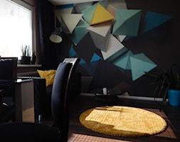 Latające czworościany - Salon, styl eklektyczny - zdjęcie od Agata Łysiak PIĘTRO - Homebook