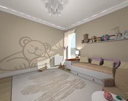 POKÓJ DZIEWCZYNKI - MIŚ - Pokój dziecka, styl eklektyczny - zdjęcie od Agata Łysiak PIĘTRO - Homebook