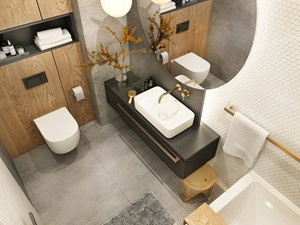 Łazienka Plaster Miodu