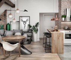 Salon styl Skandynawski - zdjęcie od MaNaZa