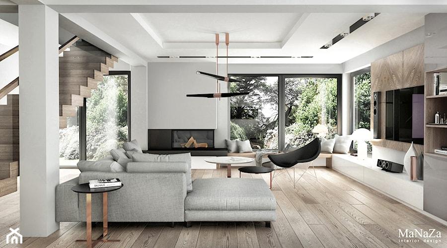 dom pod Krakowem 250m2 - Schody, styl nowoczesny - zdjęcie od MaNaZa