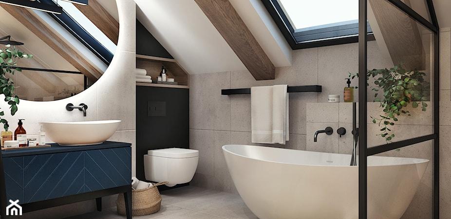 Oświetlenie łazienki na poddaszu – jak prawidłowo oświetlić łazienkę na poddaszu?